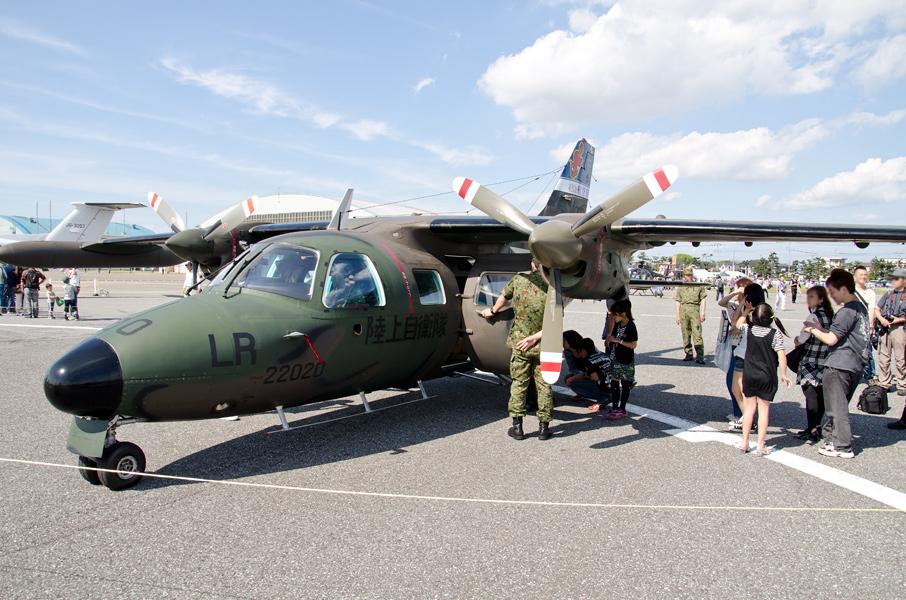 LR-1の機内公開