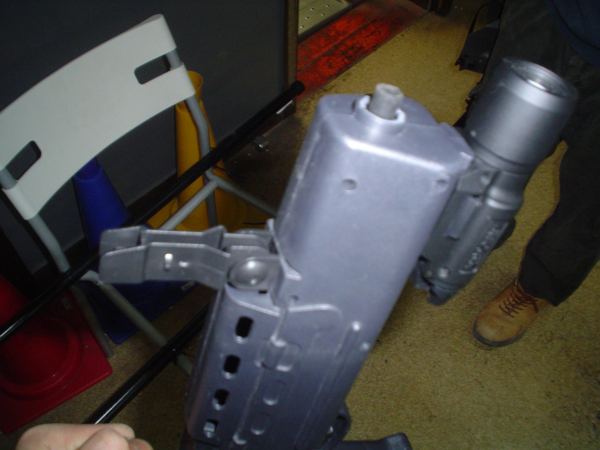 No17.L85の銃口