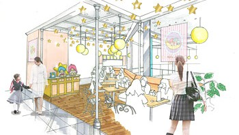 キキララカフェ、5月1日から期間限定で大阪にオープン