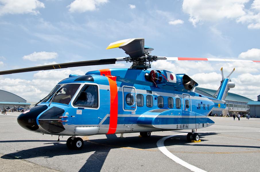 警視庁航空隊のS-92