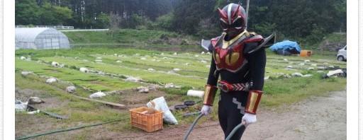 秋田県のローカルヒーロー「超神ネイガー」のツイートが感動的と話題