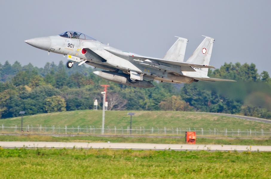 第305飛行隊のF-15J
