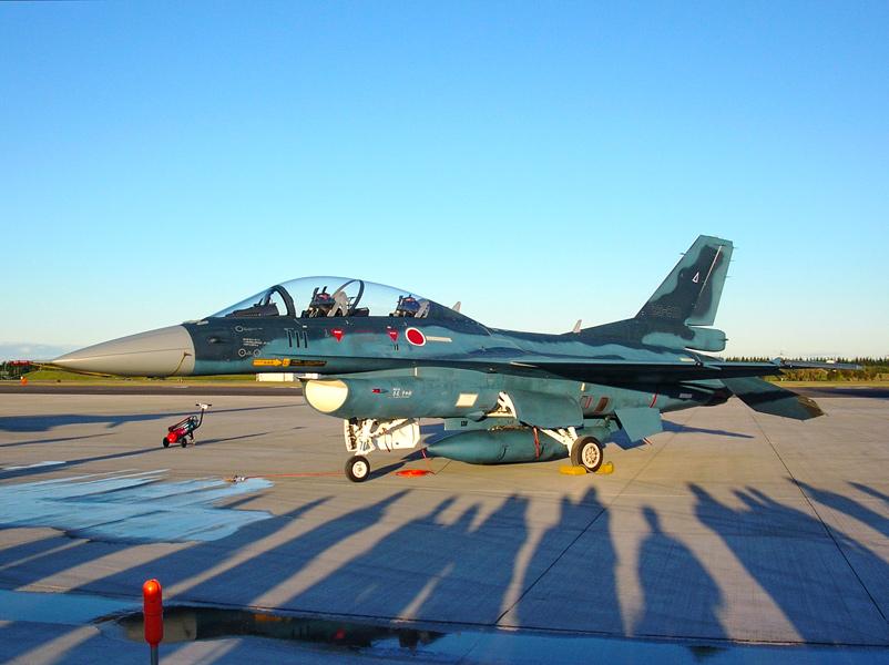 第21飛行隊のF-2B
