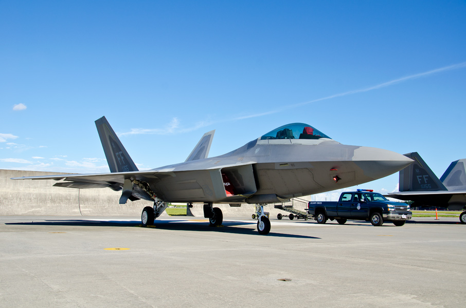 第1戦闘航空団第27戦闘飛行隊のF-22A