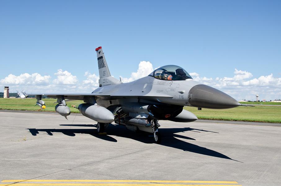 第51戦闘航空団第36戦闘飛行隊のF-16CG