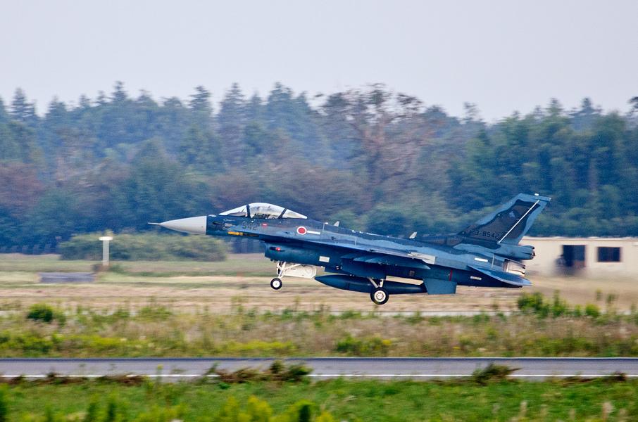 第3飛行隊のF-2A