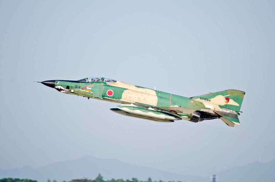 第501飛行隊のRF-4E