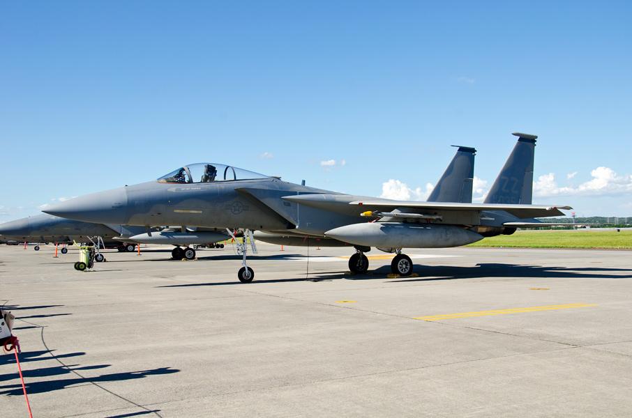 第18戦闘航空団第44戦闘飛行隊のF-15C