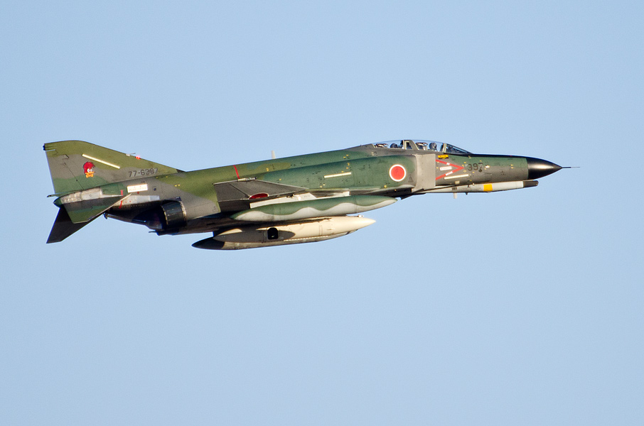 第501飛行隊のRF-4EJ