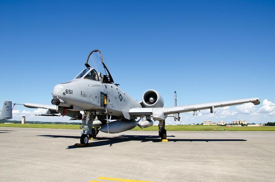 第51戦闘航空団第25戦闘飛行隊のA-10