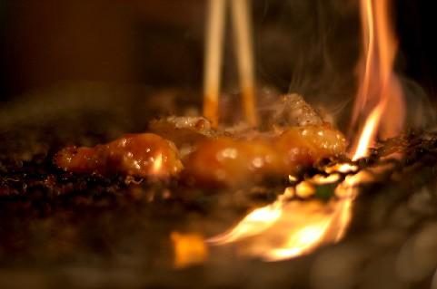 これは焼肉の炎上