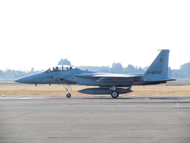 第23飛行隊のF-15DJ