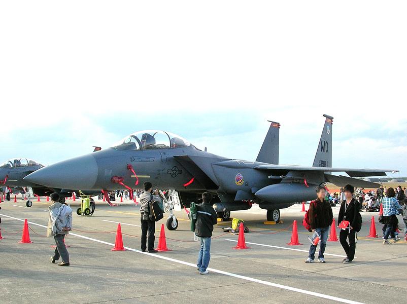 第366戦闘航空団第389戦闘飛行隊のF-15E