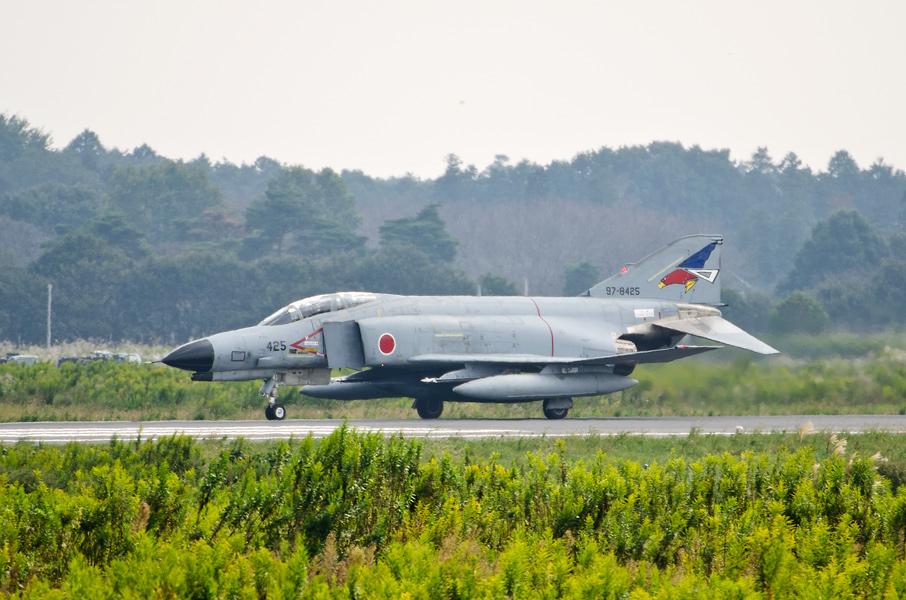 第302飛行隊のF-4EJ