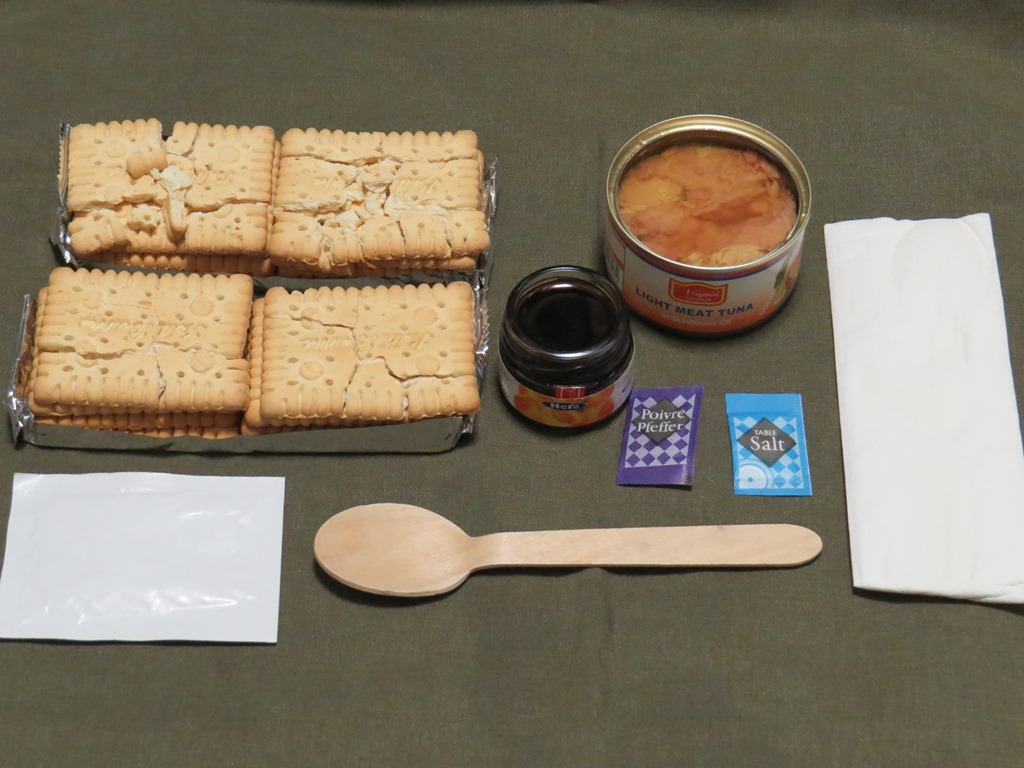 UAE軍レーション朝食