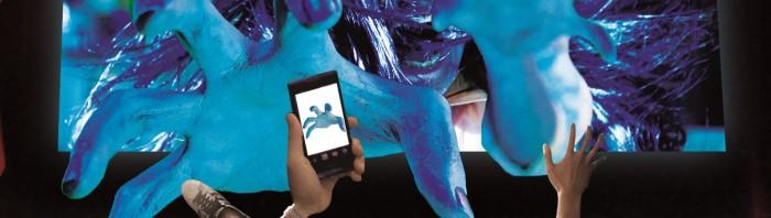 「貞子3D2」で世界初の試み―スマホアプリ連動映画