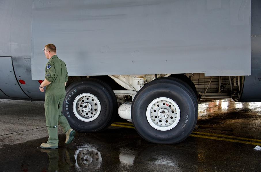 米空軍C-5輸送機の主脚