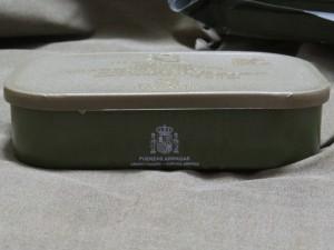 スペイン軍エマージェンシー・レーションボックス横2