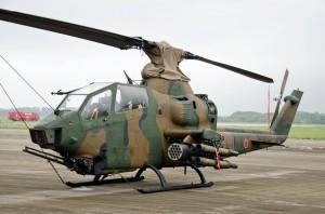 木更津第4対戦車ヘリコプター隊のAH-1S