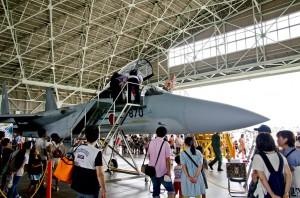 F-15Jコクピット公開