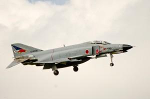戦競塗装のF-4EJ改