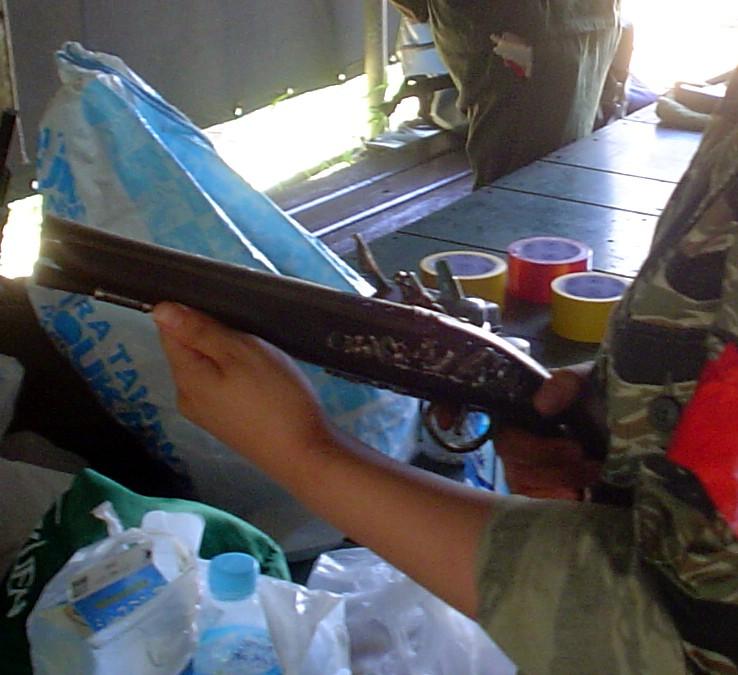 No12.KTWフリントロック銃