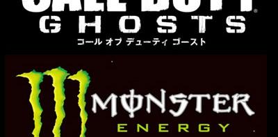 モンスターエナジー、11月発売の「Call of Duty: Ghosts」とタイアップ