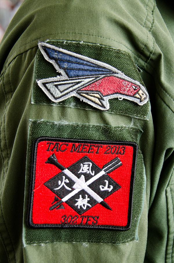 302飛行隊の戦競パッチ