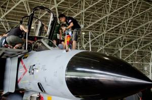 F-4EJ改コクピット公開
