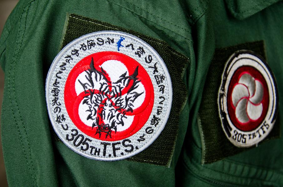 305飛行隊の戦競パッチ