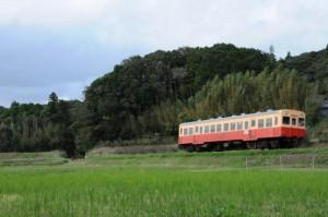 里山を行く列車3