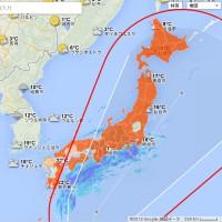 栃木県のみ被害域外