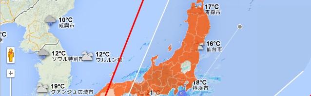 今回の台風で「栃木が神に守られてる」と話題