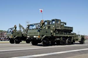 即応予備自衛官部隊の災害派遣装備
