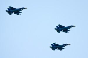 第8飛行隊のF-2A