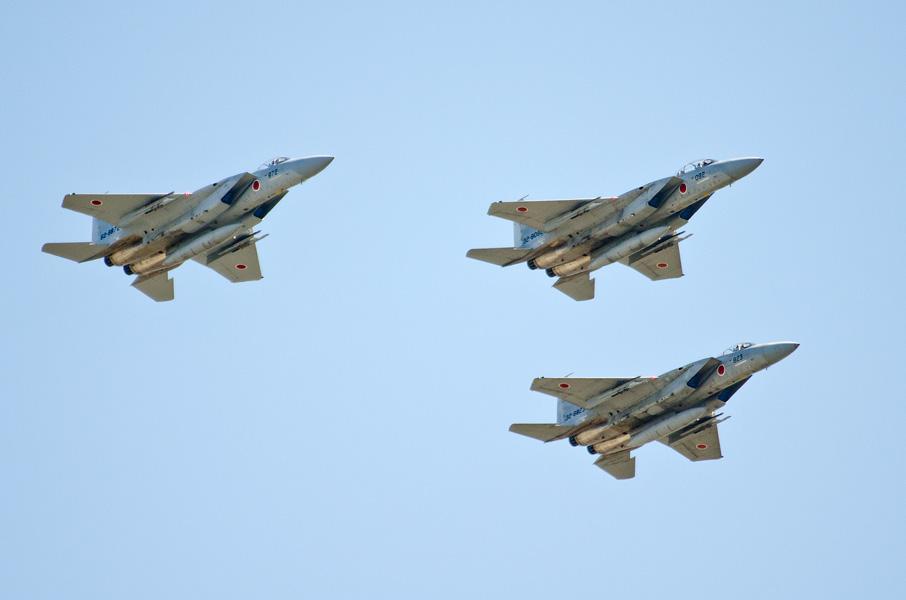 第305飛行隊のF-15