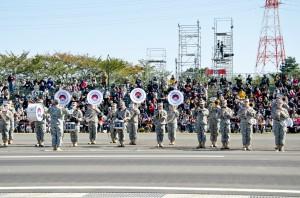 在日米陸軍バンド