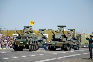 高射教導隊の87式自走高射機関砲