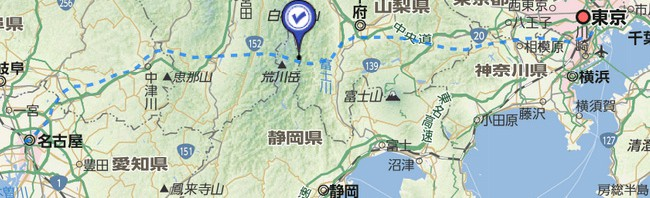 「リニア中央新幹線」最終案ルートYahoo!地図で公開