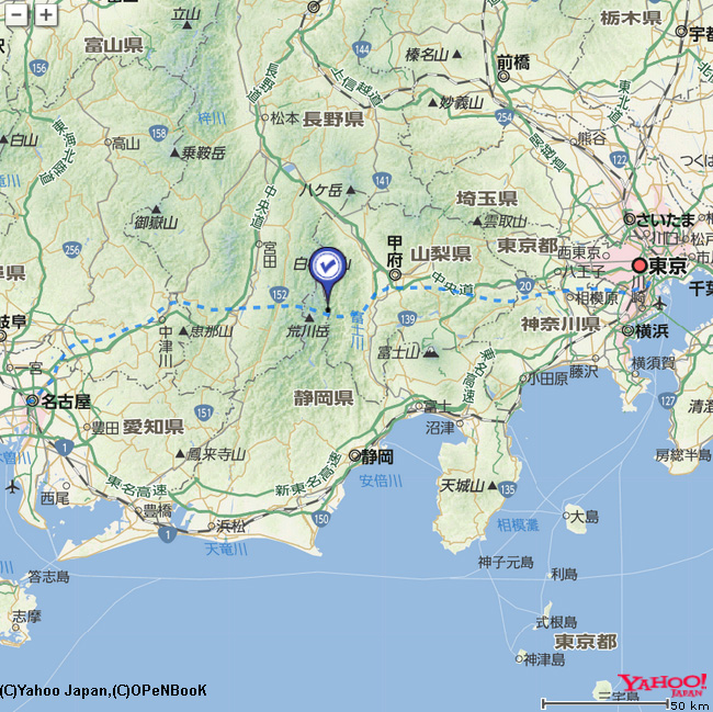 新幹線 リニア ルート 中央