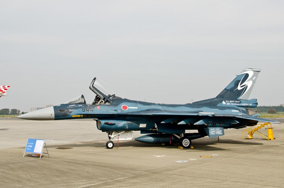 第3飛行隊のF-2A戦競参加機