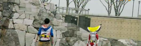 東映公式の「仮面ライダー鎧武」おもしろ変身シーン動画50万再生突破