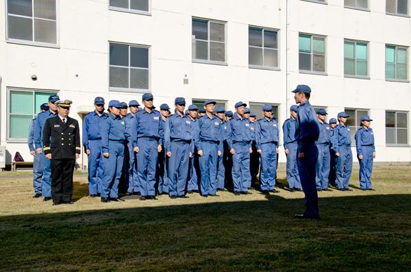 海上自衛隊 第3術科学校 学生隊 第21分隊の皆さん