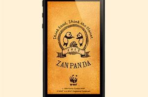 「残飯」をおすそわけ?―自然保護団体WWF、iPhoneアプリ『ZANPANDA』リリース