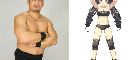 どういうこと!?DDTプロレスの男子レスラー2次元美少女化決定