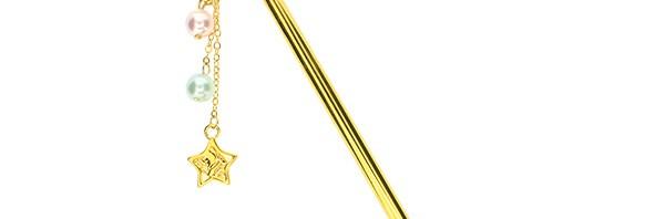 キキ&ララかんざしに「星杖」と「一角獣」登場!超可愛いんですけどコレ