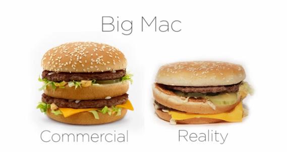 マクドナルド「CM商品 VS 実際商品」比較動画が公開され話題に | おたくま経済新聞