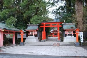 枚聞神社駐車場