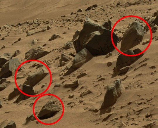 NASA火星画像
