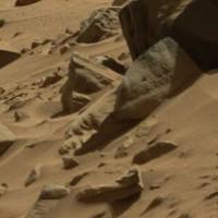 桂歌丸師匠そっくりの火星の岩